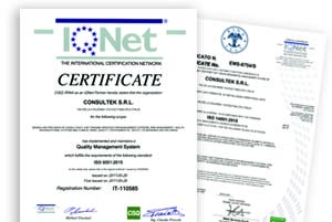 download certificati consultek srl